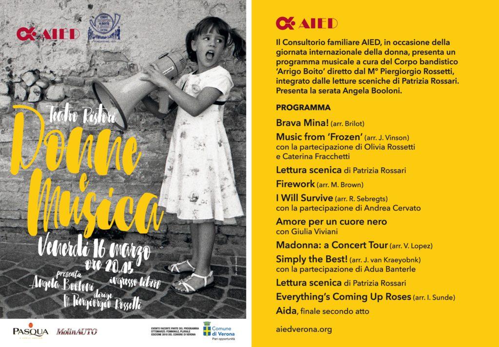 """Concerto """"Donne e Musica"""""""